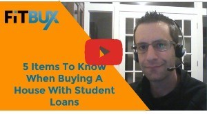 5 Items To Know When Buying A House With Student Loans 1